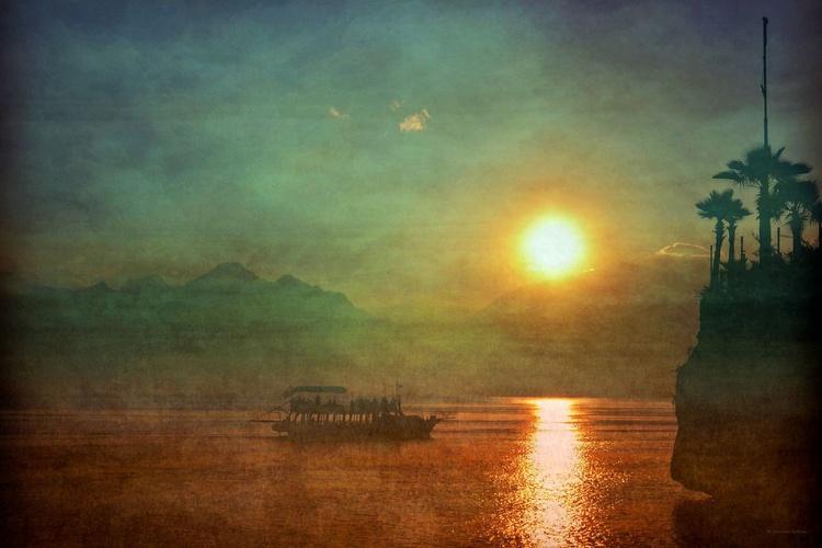 Sunset in Antalya - Canvas 75 x 50 cm - Image 0