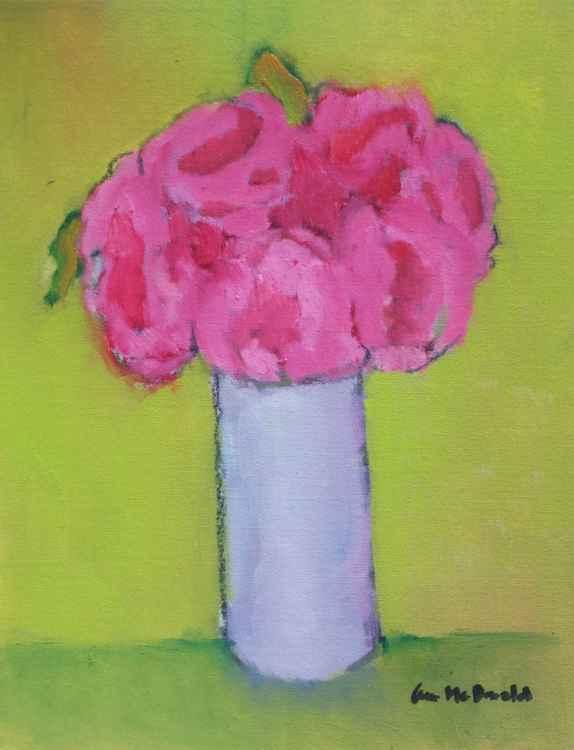Peonies in Vase -