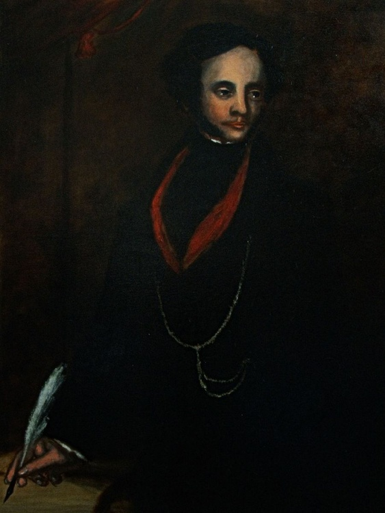 Portrait of a Gentleman (Oil on Canvas 40x30inch) - Image 0