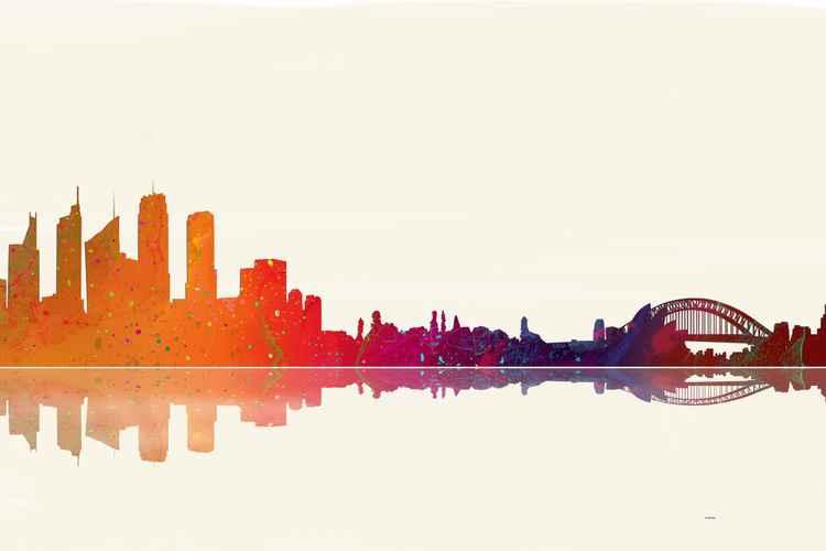 Sydney Skyline 1 -