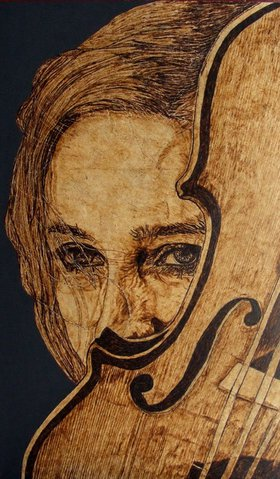 Love and passion by Millis Pyrography