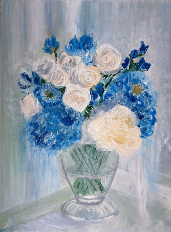 The Blue Bouquet. - Image 0