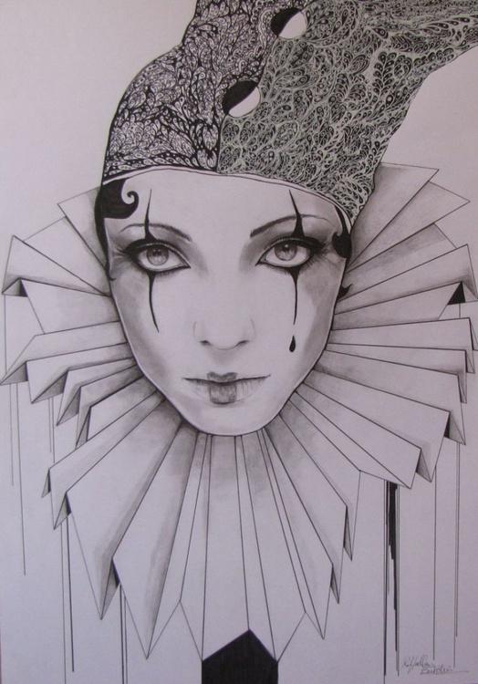 """""""Moonstruck Pierrot"""" - Image 0"""