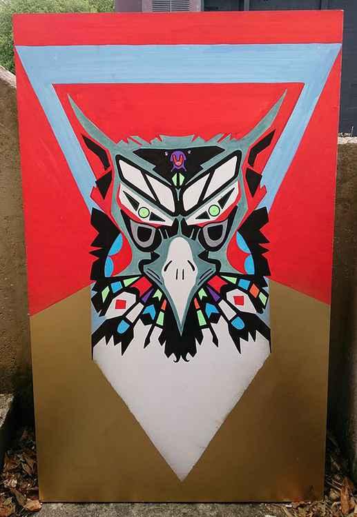 Aztec Garudasana