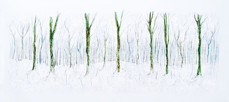 Winter Clearing (Ltd Edition of only 10 Large Fine Art Giclee Prints from original artwork.) - Image 0