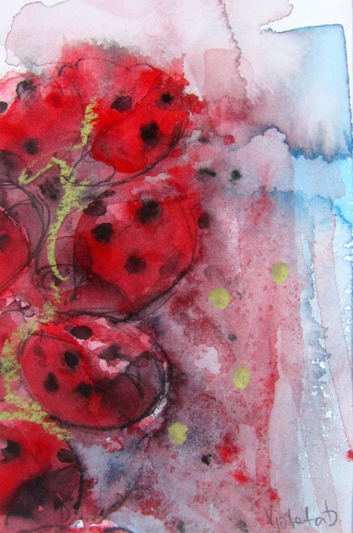Abstract Lady Bugs 4 - Image 0