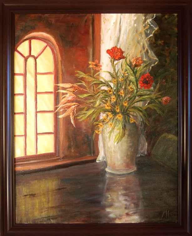 Evening flowers -