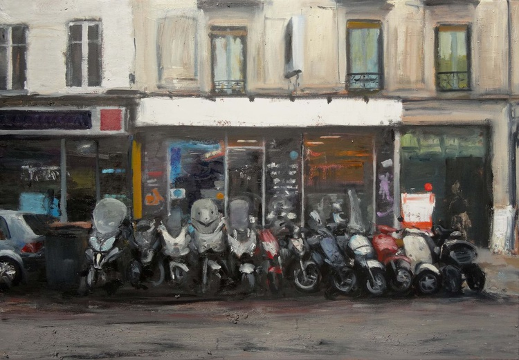 Scooters ,Montreuil - Image 0
