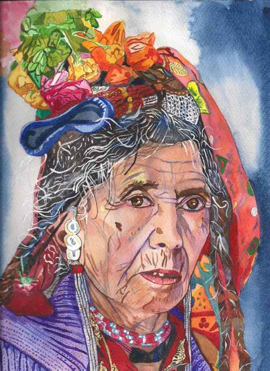 Lady at the market -