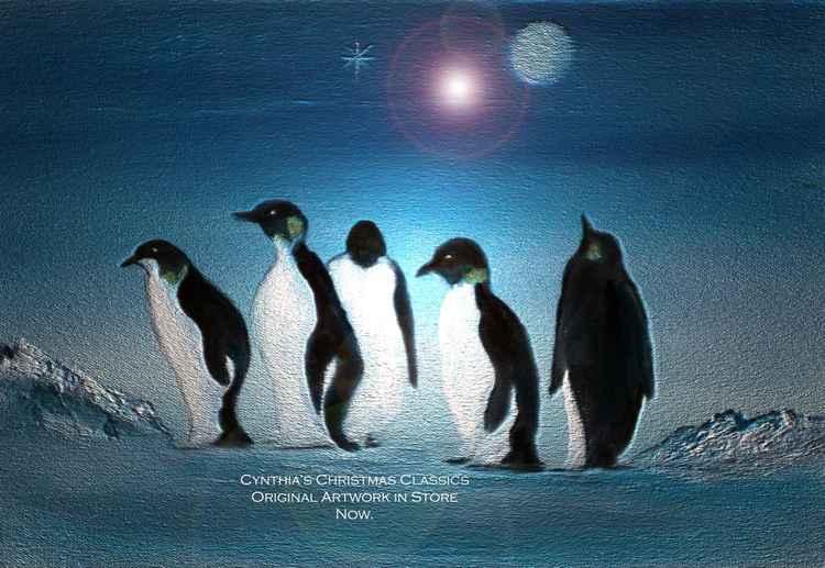 Christmas Penguins.