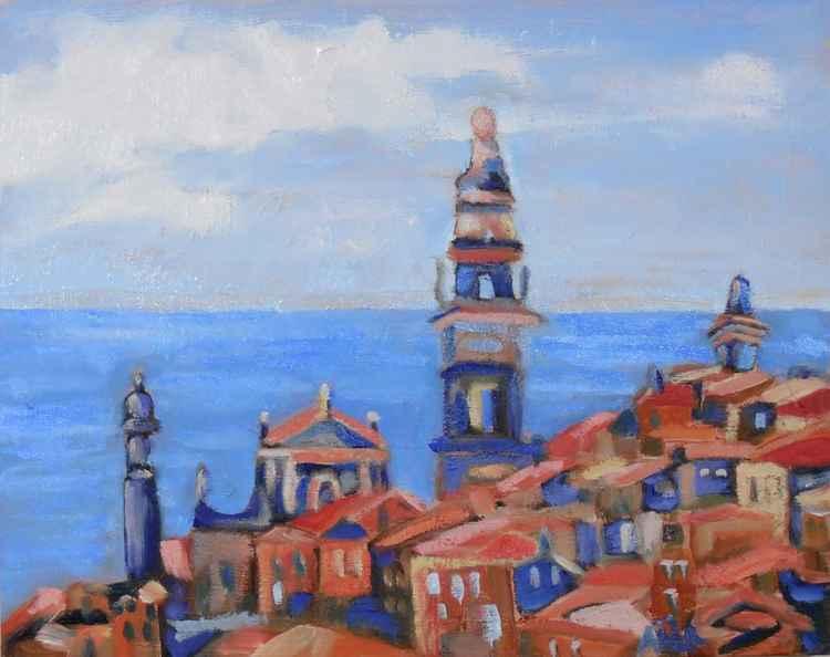 Mediterranean village -