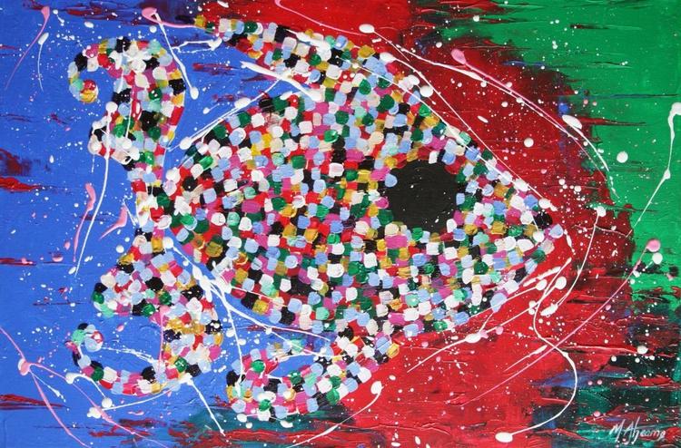 mosaic fish - Image 0