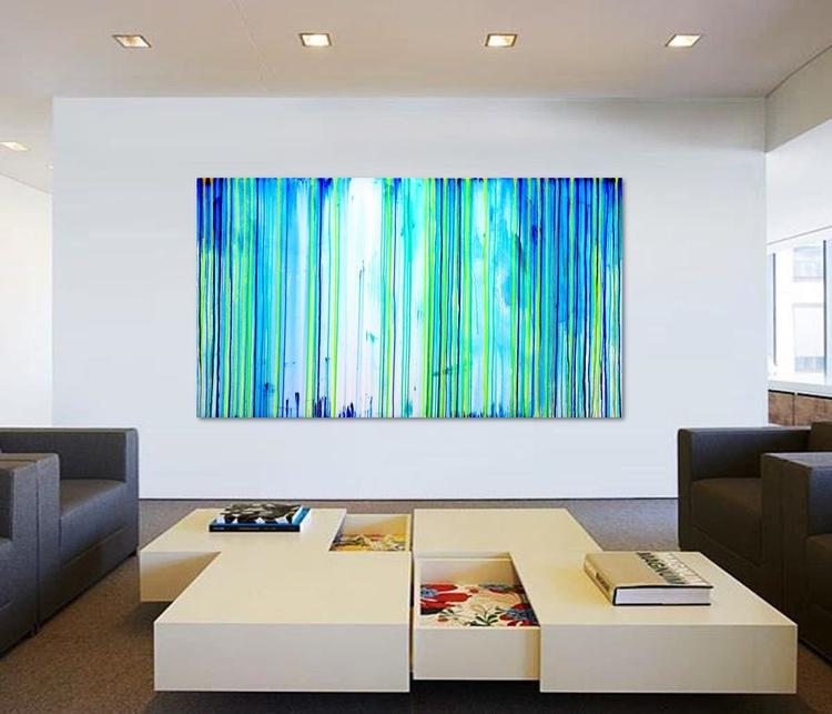 The Emotional Creation #113, extra large acrylic painting - Image 0