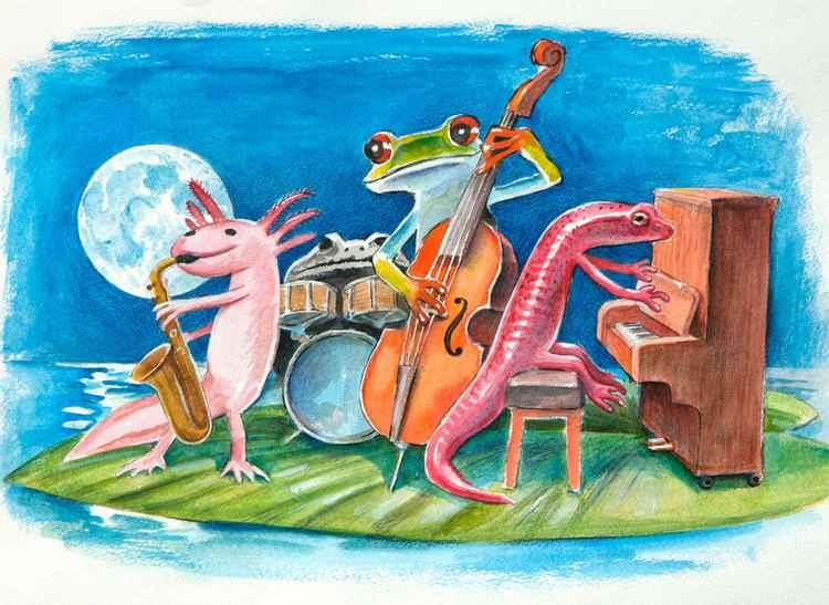 Salamander Ball Jazz band