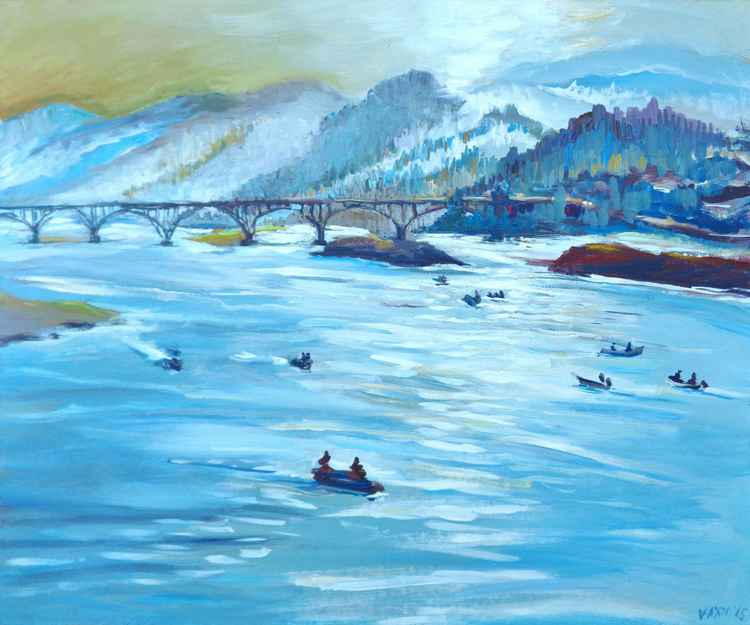 Rogue River Salmon Run -