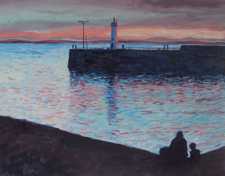 Evening By The Harbour - Image 0