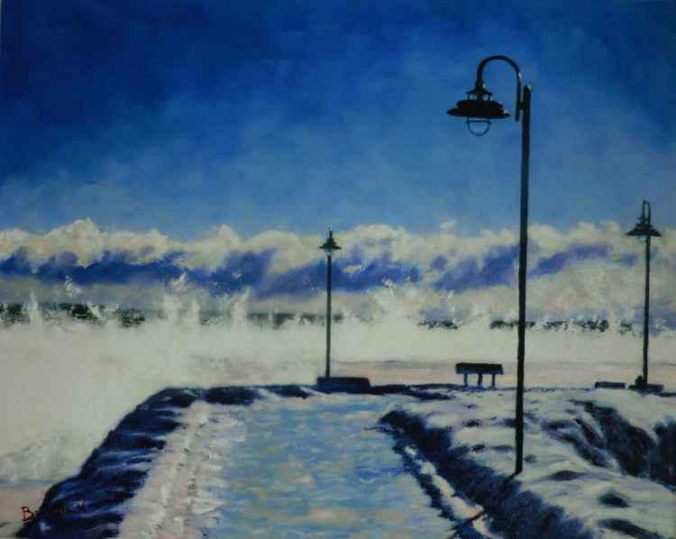 quai de Baie saint-Paul (hiver) -