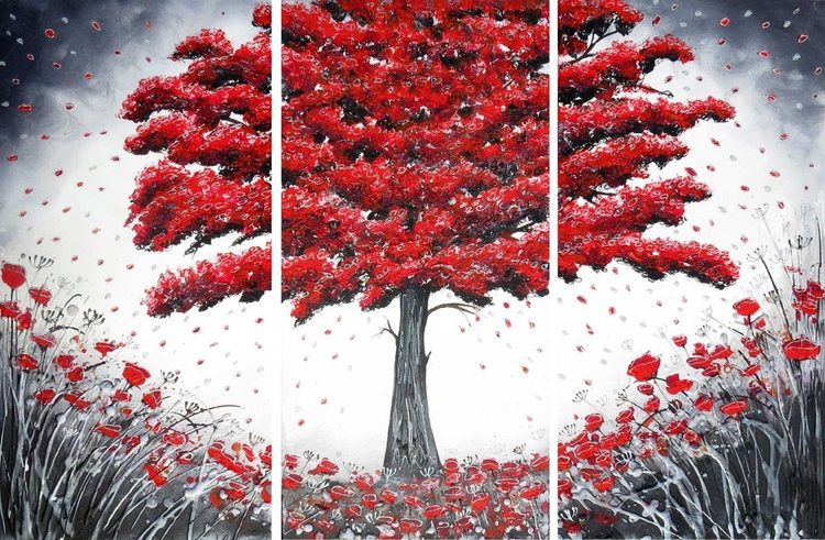Dancing Red Tree - Image 0
