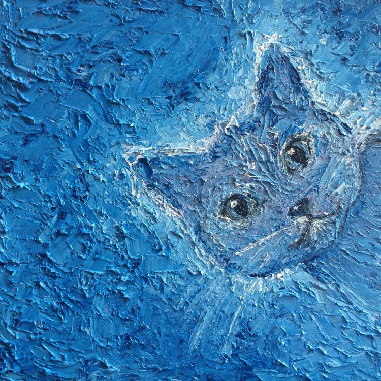 BLUERRY - THE CAT IN THE WIND - Image 0