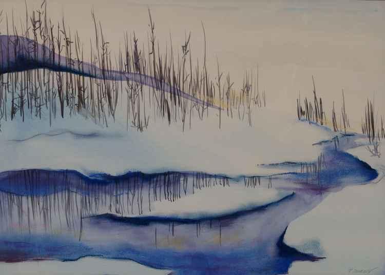 Winter Stream -