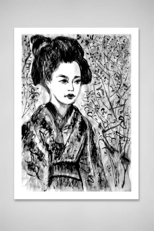 Geisha Cherry Blossom - Image 0