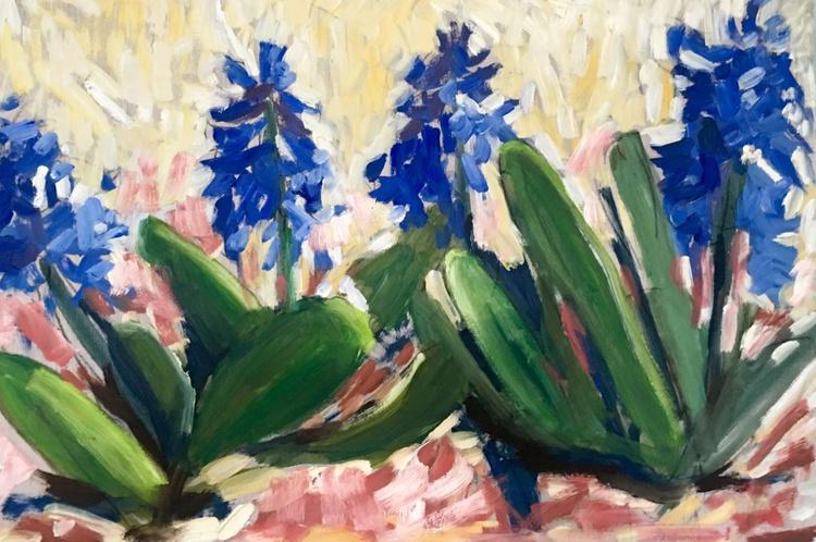 Blue Hyacinths - Image 0