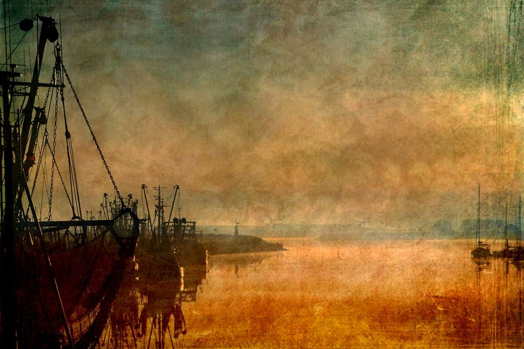 Inspired by Turner - Canvas 75 x 50 cm - Image 0