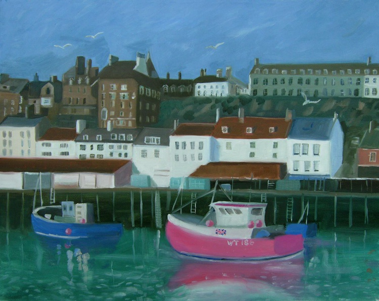 Fishing Boats at Whitby - Image 0