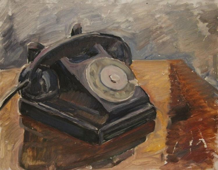 Antique phone - Image 0