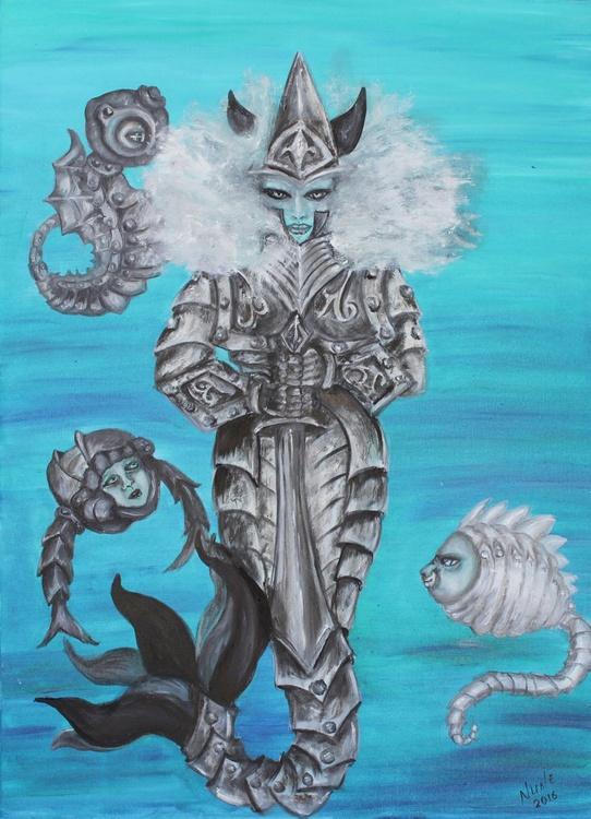 Mermaid-Warrior - Image 0