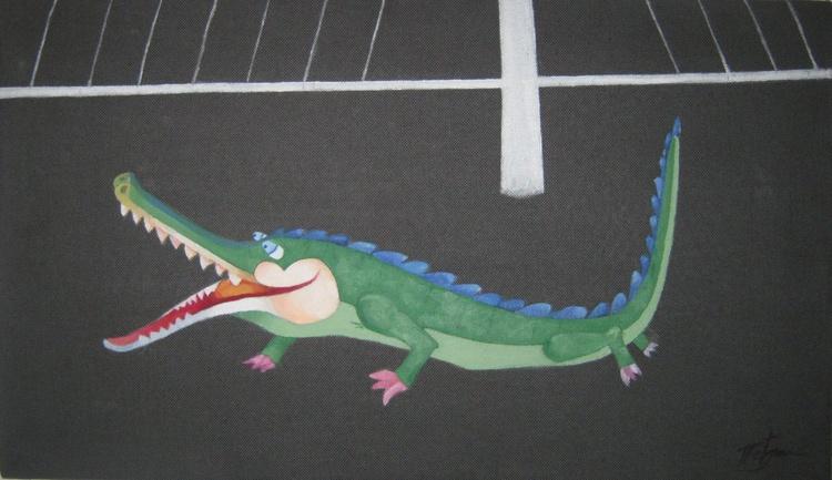 """""""Bukvar-small pond full of crocodiles"""" - Image 0"""