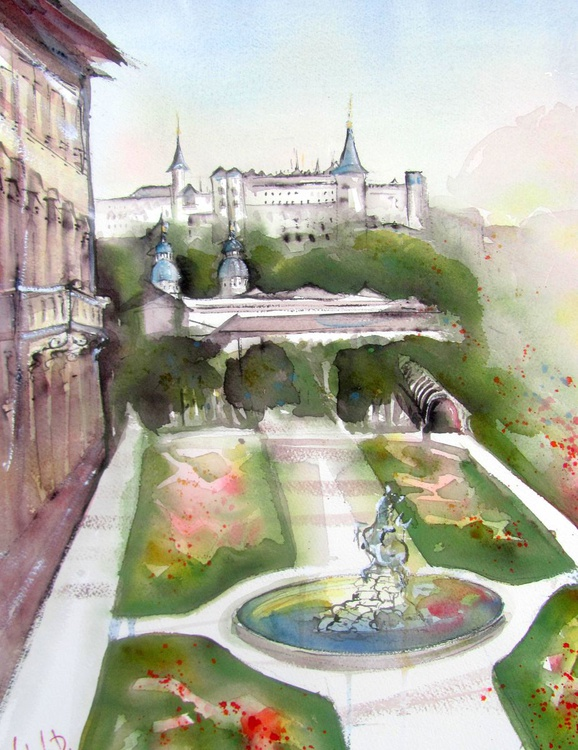 The Mirabell Palace Garden 2 - Image 0
