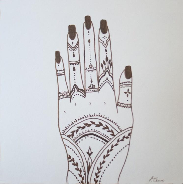 Mehndi Hand - Image 0