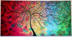 4 Seasons Tree - Oil by Jean Vadal  Smith -  Bentson