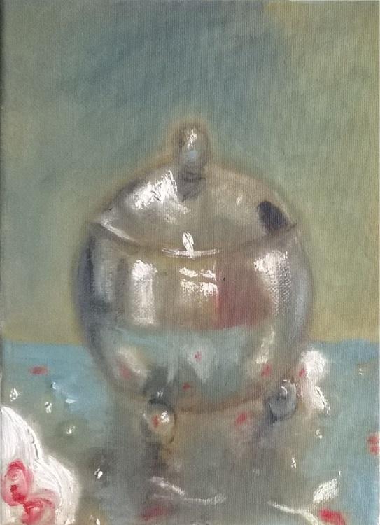 Chrome Sugar Bowl - Image 0