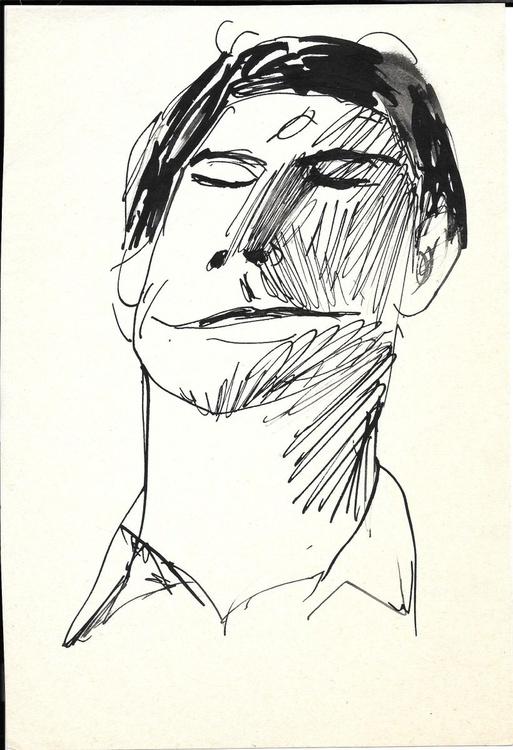 Self-portrait 10, 16x24 cm - Image 0