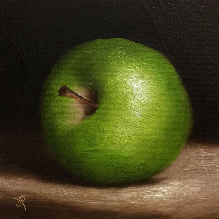 Alla prima Green Apple 2 - Image 0