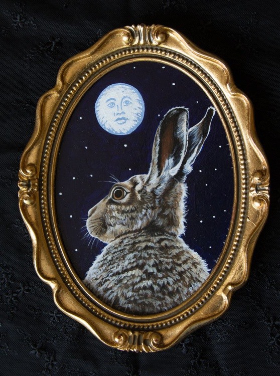 It's Rude to Stare said the Moon to the Hare - Image 0