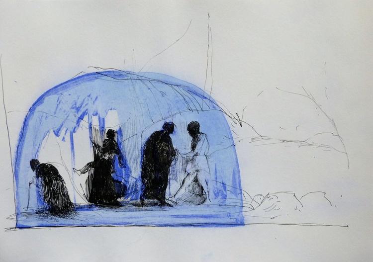 Yurt, 21x29 cm - Image 0