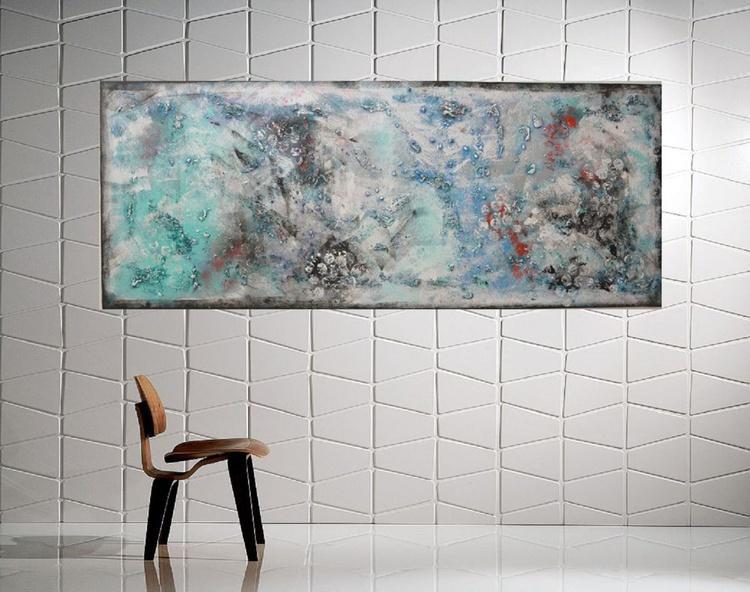"""59x 23,5""""( 150x60cm),   Energy field Landscape - Image 0"""