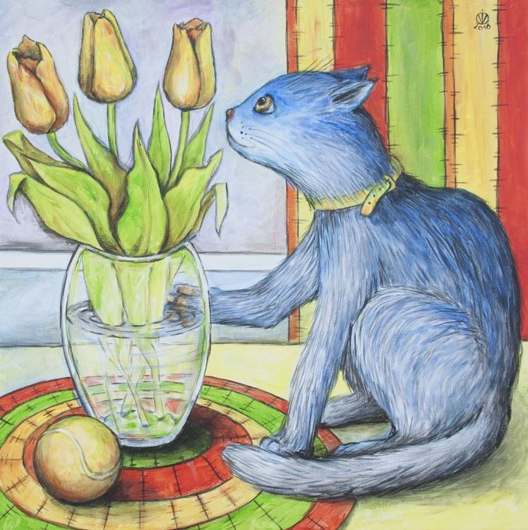 Yellow Tulips - Image 0