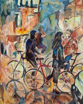 Big Wheels Meeting by Sharon  Sieben