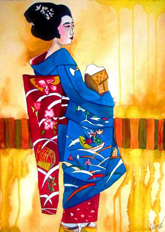 Blue Kimono 2 -