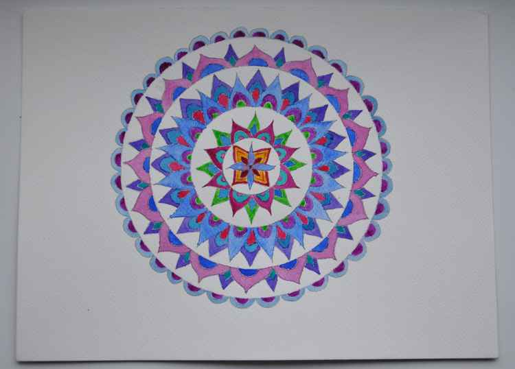 Peaceful Mandala -