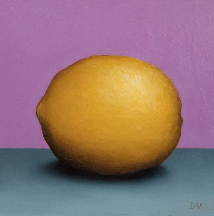Still life with Lemon 4 - Daily Painting Challenge - Image 0