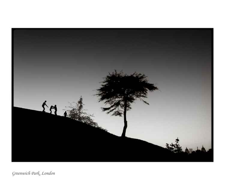 Greenwich Park : one tree hill -