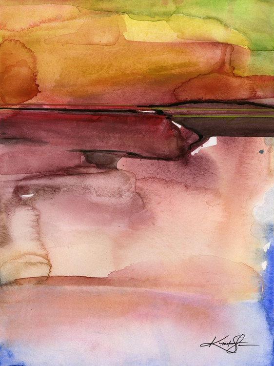 Ethereal Travels 1 - Abstract Watercolor Painting - Image 0