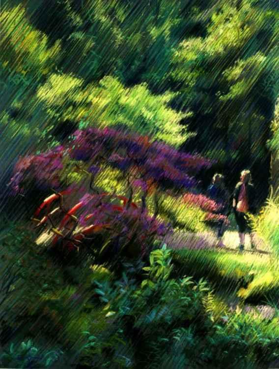 Japanese garden (2014 -
