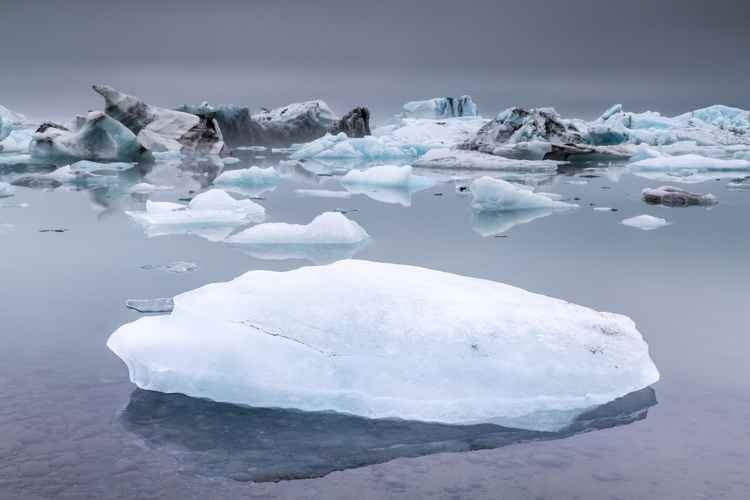 Jokulsarlon Glacial Lagoon Iceland -