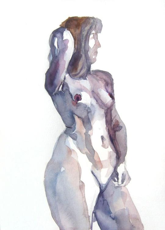 nude standing pose II - Image 0